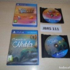Videojuegos y Consolas PS4: PS4 - ALCHEMIC JOUSTS + EL MUNDO DE NUBLA , PAL ESPAÑOLES. Lote 261833255
