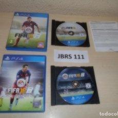 Videojuegos y Consolas PS4: PS4 - FIFA 15 + FIFA 16 , PAL ESPAÑOLES. Lote 261833535