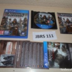 Videojuegos y Consolas PS4: PS4 - ASSASINS CREED SYNDICATE , PAL ESPAÑOL , COMPLETO. Lote 262041630