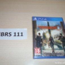 Videojuegos y Consolas PS4: PS4 - DIVISION 2 , PAL ESPAÑOL , PRECINTADO. Lote 262043620