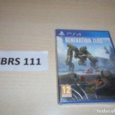 Videojuegos y Consolas PS4: PS4 - GENERATION ZERO , PAL ESPAÑOL , PRECINTADO. Lote 262043730