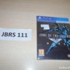 Videojuegos y Consolas PS4: PS4 - ZONE OF THE ENDERS - THE 2ND RUNNER , PAL ESPAÑOL , PRECINTADO. Lote 262043905