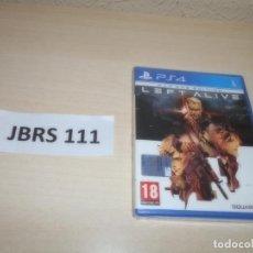 Videojuegos y Consolas PS4: PS4 - LEFT ALIVE - DAY ONE EDITION , PAL ESPAÑOL , PRECINTADO. Lote 262044955
