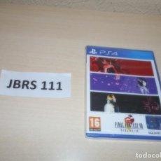 Videojuegos y Consolas PS4: PS4 - FINAL FANTASY VIII REMASTERED , PAL ESPAÑOL , PRECINTADO. Lote 262046225