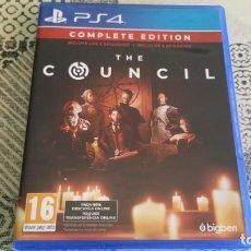 Videojuegos y Consolas PS4: THE COUNCIL PS4 PAL ESPAÑA COMPLETE EDITION. Lote 262576915