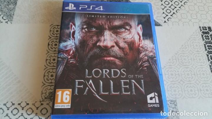 LORDS OF FALLEN PS4 PAL ESPAÑA COMPLETO CON CD SOUNDTRACK LIMITED EDITION (Juguetes - Videojuegos y Consolas - Sony - PS4)