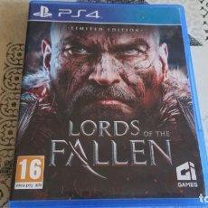Videojuegos y Consolas PS4: LORDS OF FALLEN PS4 PAÑ ESPAÑA COMPLETO CON CD SOUNDTRACK. Lote 262908420