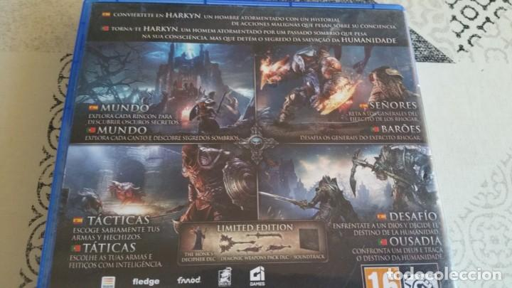 Videojuegos y Consolas PS4: LORDS OF FALLEN PS4 PAL ESPAÑA COMPLETO CON CD SOUNDTRACK LIMITED EDITION - Foto 3 - 262908420