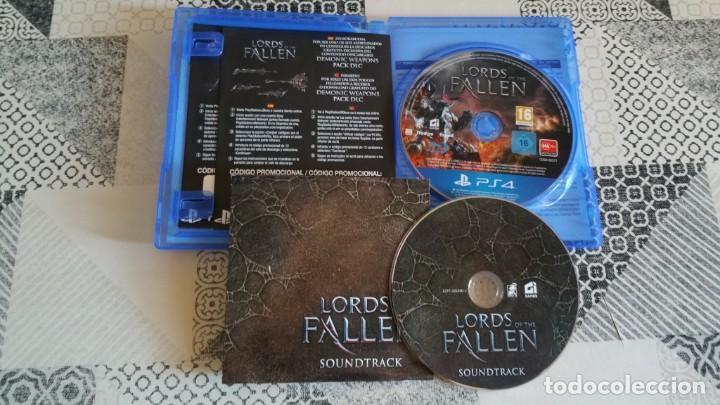 Videojuegos y Consolas PS4: LORDS OF FALLEN PS4 PAL ESPAÑA COMPLETO CON CD SOUNDTRACK LIMITED EDITION - Foto 4 - 262908420