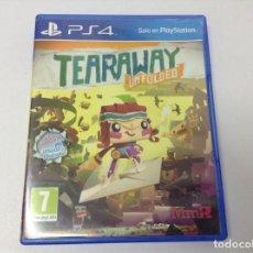 Videojuegos y Consolas PS4: TEARAWAY UNFOLDED. Lote 262914150