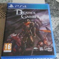 Videojuegos y Consolas PS4: DEATH'S GAMBIT PS4 PAL ESPAÑA. Lote 262920450