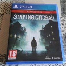 Videojuegos y Consolas PS4: SINKING CITY PS4 PAL ESPAÑA COMPLETO. Lote 262920980