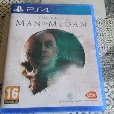 Videojuegos y Consolas PS4: MAN OF MEDAN PS4 PAL ESPAÑA COMPLETO. Lote 262934195