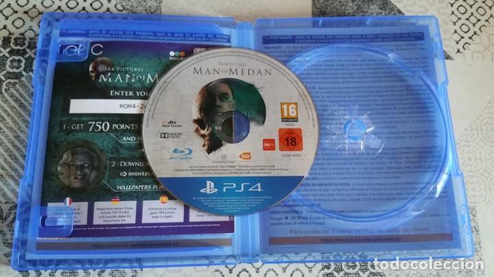 Videojuegos y Consolas PS4: MAN OF MEDAN PS4 PAL ESPAÑA COMPLETO - Foto 4 - 262934195