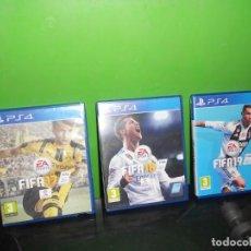 Jeux Vidéo et Consoles: LOTE 3 PS4 - FIFA 17 - FIFA 18 - FIFA 19 - SPORTS - PLAYSTATION 4. TENGO + JUEGOS. Lote 262992220