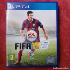 Videojuegos y Consolas PS4: FIFA 15 PS4 PLAYSTATION 4 PLAY STATION. Lote 267472809