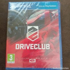 Videojuegos y Consolas PS4: DRIVECLUB JUEGO PS4 FÍSICO NUEVO PRECINTADO PLAYSTATION 4 CARRERAS DE COCHES. Lote 268981944