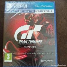 Videojuegos y Consolas PS4: GRAN TURISMO SPORT PS4 PAL ESPAÑA NUEVO PRECINTADO SELLADO. Lote 269002409