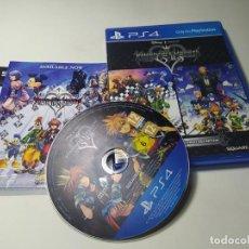 Videojuegos y Consolas PS4: KINGDOM HEARTS HD 1.5 + 2.5 REMIX ( PS4 - PLAYSTATION 4 - PAL - UK ) CON ESPAÑOL. Lote 269143963