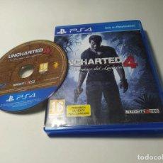 Videojuegos y Consolas PS4: UNCHARTED 4 ( PS4 - PLAYSTATION 4 - PAL - ESPAÑA ). Lote 269144388