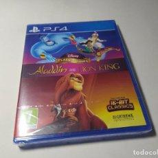 Videojuegos y Consolas PS4: ALADDIN + EL REY LEON ( PS4 - PLAYSTATION 4 - PAL - ESPAÑA ) ( PRECINTADO! ). Lote 269144708