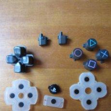 Videojuegos y Consolas PS4: JUEGO DE BOTONES Y ALMOHADILLAS CONDUCTORAS PARA MANDO PLAYSTATION 4. Lote 269176228
