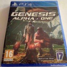 Videojuegos y Consolas PS4: GENESIS ALPHA ONE PS4 PRECINTADO. Lote 269820653