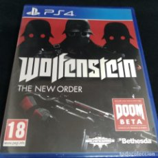 Videojuegos y Consolas PS4: WOLFENSTEIN THE NEW ORDER PS4. Lote 269824768