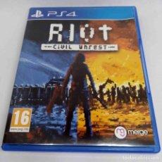 Videojuegos y Consolas PS4: RIOT CIVIL UNREST PS4. Lote 269829868