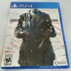 Videojuegos y Consolas PS4: FARENHEIT LIMITED RUN GAMES EDITION PS4. Lote 269850788