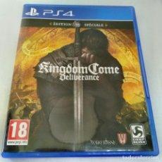 Videojuegos y Consolas PS4: KINGDOM COME DELIVERANCE SPECIAL EDITION ( CON DLC ) PS4. Lote 271028493