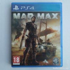 Videojuegos y Consolas PS4: MAD MAX PS4. Lote 271057098