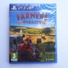Videojuegos y Consolas PS4: FARMER´S DYNASTY PS4 PRECINTADO. Lote 271058233