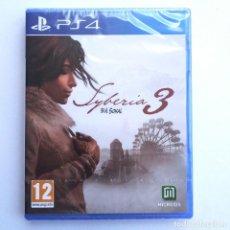 Videojuegos y Consolas PS4: SYBERIA 3 BY B.H.SOKAL PS4 PRECINTADO. Lote 271059418