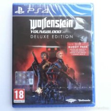 Videojuegos y Consolas PS4: WOLFENSTEIN YOUNGBLOOD DELUXE EDITION PS4. Lote 271066518