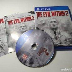 Videojuegos y Consolas PS4: THE EVIL WITHIN 2 ( PS4 - PLAYSTATION 4 - PAL - ESP). Lote 271399688