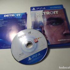 Videojuegos y Consolas PS4: DETROIT : BECOME HUMAN ( PS4 - PLAYSTATION 4 - PAL - ESP). Lote 271399788
