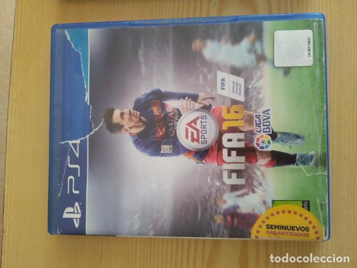 M-38 DVD PS4 EA SPORTS FIFA 16 (Juguetes - Videojuegos y Consolas - Sony - PS4)