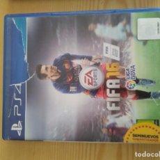 Videojuegos y Consolas PS4: M-38 DVD PS4 EA SPORTS FIFA 16. Lote 273115498