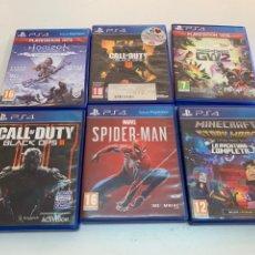 Videojuegos y Consolas PS4: LOTE DE 6 JUEGOS PARA PS4.. Lote 275689908