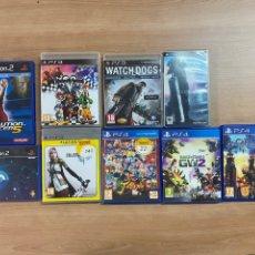 Videojuegos y Consolas PS4: LOTE DE 9 JUEGOS PS2, 3, 4 & PSP. Lote 275719818