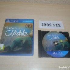 Videojuegos y Consolas PS4: PS4 - EL MUNDO DE NUBLA , PAL ESPAÑOL , COMPLETO. Lote 275933863