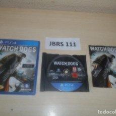 Videojuegos y Consolas PS4: PS4 - WATCH DOGS , PAL ESPAÑOL , COMPLETO. Lote 275934178