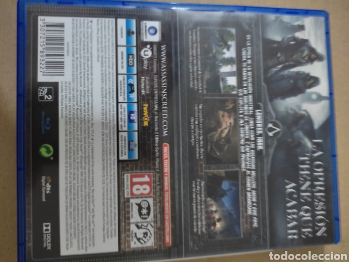Videojuegos y Consolas PS4: Assassins Creed sundicate (ps4 - Foto 3 - 276569943