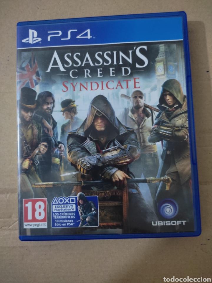 ASSASSINS CREED SUNDICATE (PS4 (Juguetes - Videojuegos y Consolas - Sony - PS4)