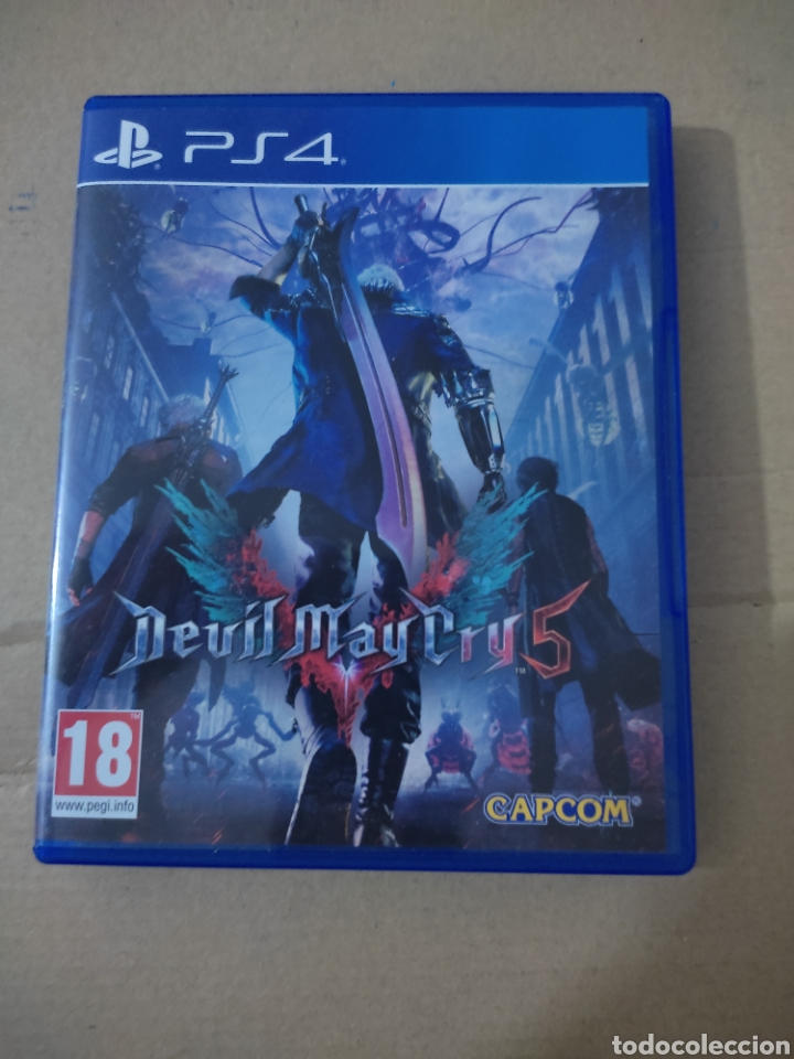 DEVIL MY CRY 5 (PS4 (Juguetes - Videojuegos y Consolas - Sony - PS4)