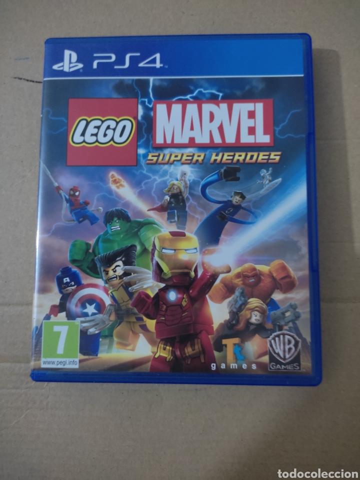 MARVEL SUPER HÉROES LEGO (PS4) (Juguetes - Videojuegos y Consolas - Sony - PS4)