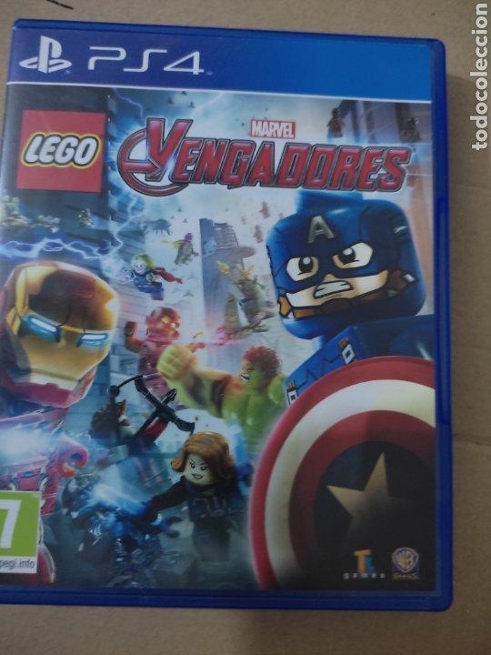 LOS VENGADORES LEGO (PS4 (Juguetes - Videojuegos y Consolas - Sony - PS4)