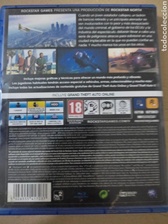 Videojuegos y Consolas PS4: Grande theft auto V(ps4 - Foto 2 - 276574128