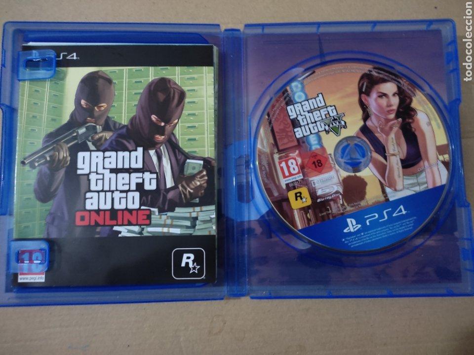 Videojuegos y Consolas PS4: Grande theft auto V(ps4 - Foto 3 - 276574128